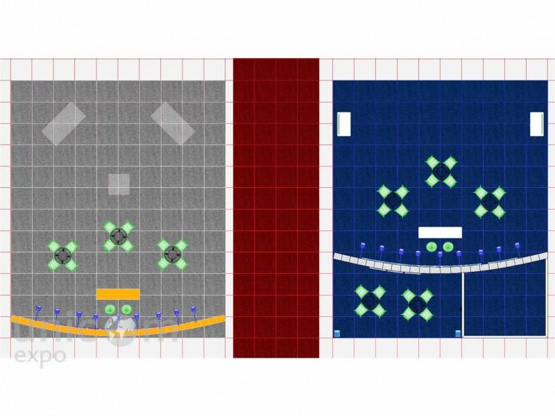 Выставочный стенд № 20015: более 100 кв. м, Деревянные стенды, Лифт экспо, Минимализм, Островной, Промышленность, Стильный, Строительство, Эксклюзивный