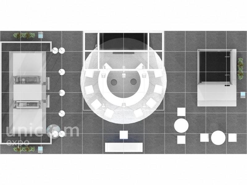 Выставочный стенд № 20016: Деревянные стенды, Классический, Лифт экспо, Островной, от 50-100 кв. м, Промышленность, Стенды из стекла, Стенды с подвесом, Строительство, Хай-тек, Эксклюзивный