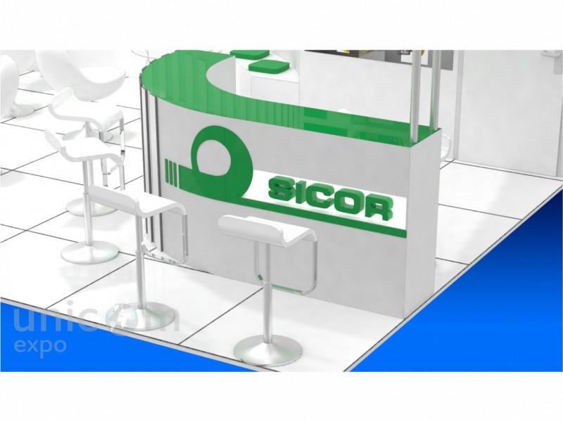 Проект выставочного стенда № 20018: Деревянные стенды, Европейский стиль, Информационные технологии и коммуникации, Лифт экспо, от 50-100 кв. м, Полуостровной, Промышленность, Эксклюзивный