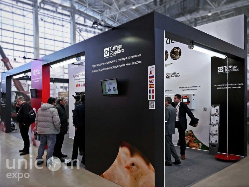 Выставочный стенд № 20027: VIV, Европейский стиль, Интерактивный, Классический, от 20 до 50 кв. м, Полуостровной, Сельское хозяйство, Стенды из ЛДСП, Эксклюзивный