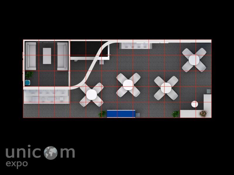 Выставочный стенд № 20036: Безопасность и охрана, Деревянные стенды, Информационные технологии и коммуникации, Лифт экспо, от 50-100 кв. м, Полуостровной, Промышленность, Современный, Стильный, Эксклюзивный