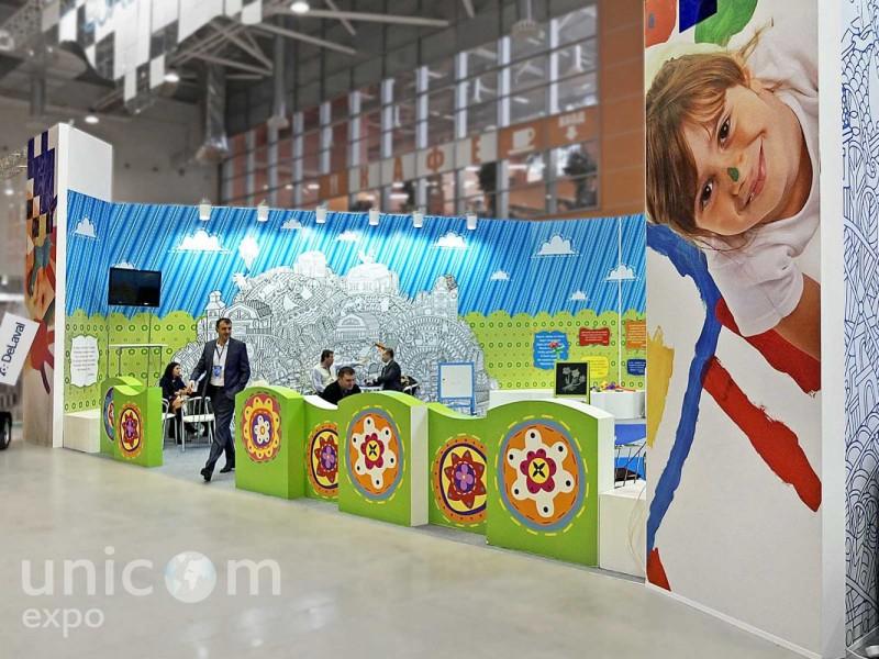 Выставочный стенд № 20056: Агроферма, Баннерные стенды, более 100 кв. м, Деревянные стенды, Интерактивный, Классический, Пищевая промышленность, Полуостровной, Сельское хозяйство, Эксклюзивный