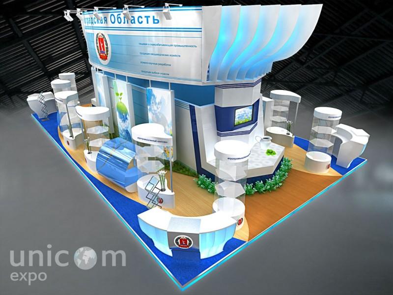 Выставочный стенд № 20062: более 100 кв. м, Деревянные стенды, Золотая осень, Классический, Необычный, Островной, Пищевая промышленность, Промышленность, Сельское хозяйство, Эксклюзивный