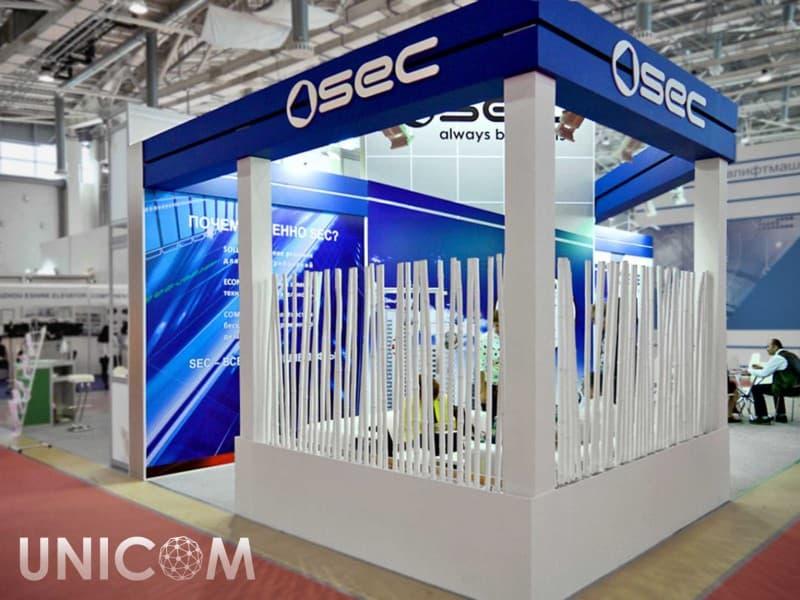 Выставочный стенд № 20040: Баннерные стенды, Деревянные стенды, Европейский стиль, Классический, Лифт экспо, от 50-100 кв. м, Полуостровной, Промышленность, Строительство, Эксклюзивный