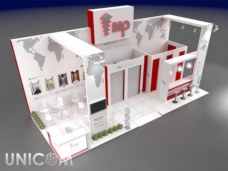 Выставочный стенд № 20053: Деревянные стенды, Классический, Лифт экспо, от 50-100 кв. м, Полуостровной, Промышленность, Современный, Эксклюзивный