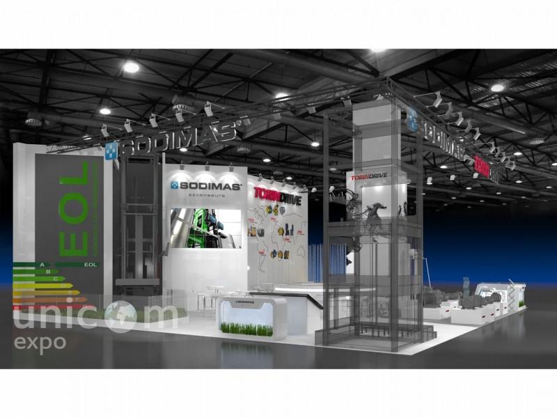 Выставочный стенд № 20057: Безопасность и охрана, более 100 кв. м, Деревянные стенды, Зарубежные стенды, Интерактивный, Конструктивизм, Лифт экспо, Металлургия, Полуостровной, Промышленность, Современный, Стенды с подвесом, Строительство, Хай-тек, Эксклюзивный