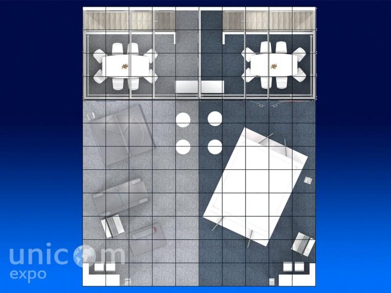 Выставочный стенд № 20072: Безопасность и охрана, более 100 кв. м, Двухэтажный, Европейский стиль, Конструктивизм, МИПС, Полуостровной, Промышленность, Стенды из стекла, Стенды с подвесом, Стильный, Строительство, Эксклюзивный