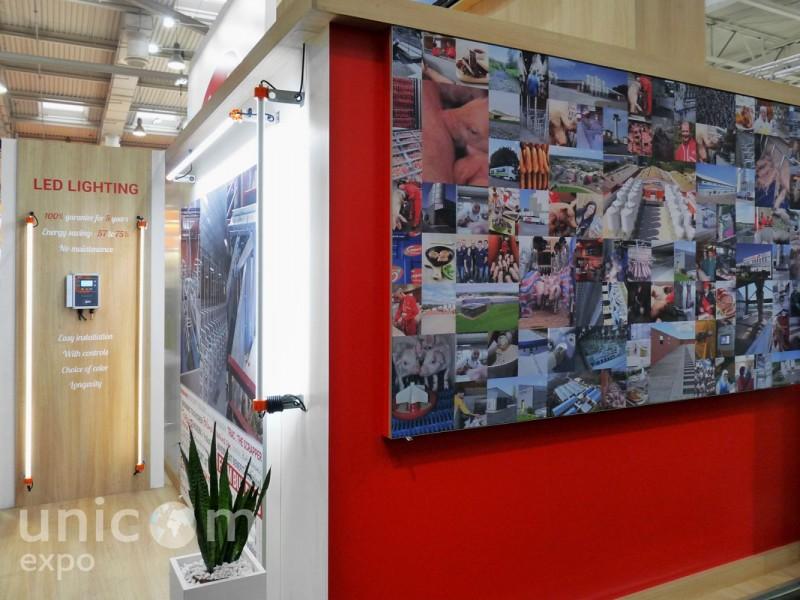 Выставочный стенд № 20077: более 100 кв. м, Деревянные стенды, Европейский стиль, Евротир, Зарубежные стенды, Сельское хозяйство, Стенды из ЛДСП, Стильный, Эксклюзивный