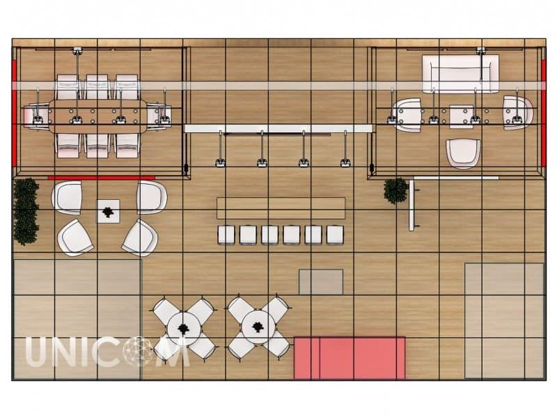 Выставочный стенд № 20077: более 100 кв. м, Деревянные стенды, Европейский стиль, Евротир, Сельское хозяйство, Стенды из ЛДСП, Стильный, Эксклюзивный